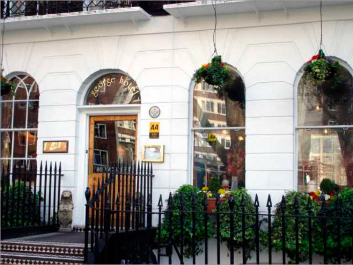 Bed and Breakfast George Hotel London