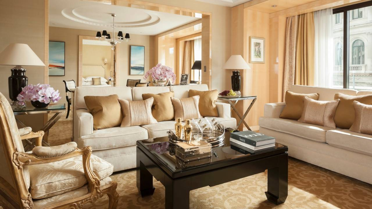 GRAND ONE-BEDROOM SUITE отеля Four Seasons