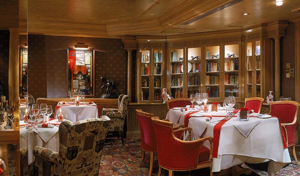 Library Restaurant в отеле Rubens At The Palace